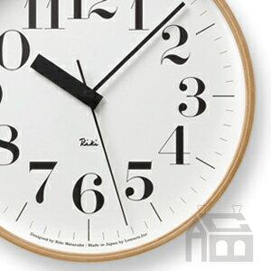 【OFFクーポンあり】【ポイント最大16倍!】Lemnos Riki Clock レムノス リキ クロック RC WR07-11 WH 電波時計 掛け時計/かけ時計