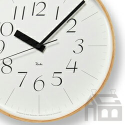 【OFFクーポンあり】【ポイント最大16倍!】Lemnos Riki Clock レムノス リキ クロック RC WR08-26 WH 電波時計 掛け時計/かけ時計
