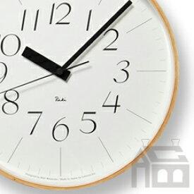 Lemnos Riki Clock レムノス リキ クロック RC WR08-26 WH 電波時計 掛け時計/かけ時計