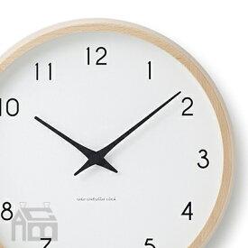 Lemnos Campagne 電波時計 カンパーニュ PC10-24W 掛時計/壁掛け時計/かけ時計/北欧/ウォールクロック/壁時計/デザイン時計/インテリア時計