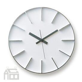 Lemnos Edge Clock AZ-0115 エッジクロック 掛時計/壁掛け時計/かけ時計/北欧/ウォールクロック/壁時計/デザイン時計/インテリア時計