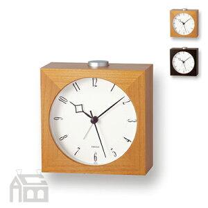 Erias ブラウン アラーム時計 T2-807AB
