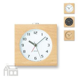 Lemnos Block alarm clock レムノス ブロック アラームクロック PA08-30 置き時計/アラーム時計/目覚まし時計/北欧/おしゃれ/デザイン時計/インテリア時計