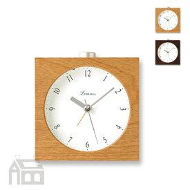 Lemnos Nocturne alarm clock レムノス ノクターン アラームクロック PA09-10 置き時計/アラーム時計/目覚まし時計/北欧/おしゃれ/デザイン時計/インテリア時計