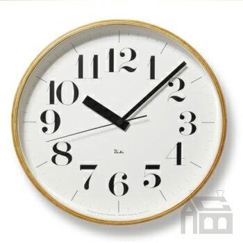 【OFFクーポンあり】【ポイント最大16倍!】Lemnos Riki Clock レムノス リキ クロック RC WR08-27 WH 電波時計 掛け時計/かけ時計