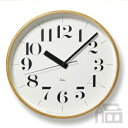 【OFFクーポンあり】【ポイント最大16倍!】Lemnos Riki Clock レムノス リキ クロック RC WR08-27 WH 電波時計 掛け時計/かけ...