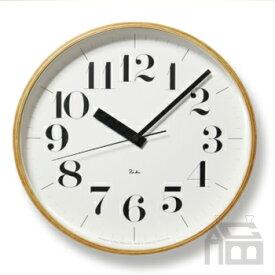 Lemnos Riki Clock レムノス リキ クロック RC WR08-27 WH 電波時計 掛け時計/かけ時計