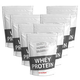 【7個セット】アルプロン WPC ナチュラル ホエイプロテイン 1kg(約50食)たんぱく質含有量約80% | 正規品 ALPRON プロテイン whey たんぱく質 筋トレ ダイエット プロテインダイエット 砂糖不使用 置き換え 女性 男性 公式