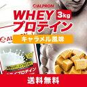 [送料無料] アルプロン WPCホエイプロテイン100 キャラメル風味 3kg(約150食分)