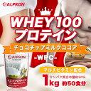 アルプロン WPCホエイプロテイン100 チョコチップミルクココア風味 1kg(約50食分)