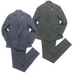 LARDINIラルディーニEASYWEARグレンチェックストレッチウールパッカブルスーツ