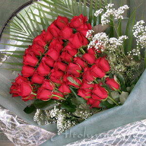 最高級の赤バラ【ルビー】 100本のブーケ(花束)【楽ギフ_包装】【楽ギフ_メッセ入力】【あす楽対応