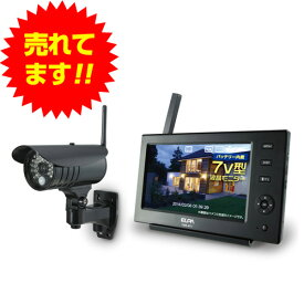 『法人様限定、個人宅配送不可』ワイヤレスカメラモニターセット CMS-7110『代引不可』『返品不可』【送料無料(一部地域除く)】