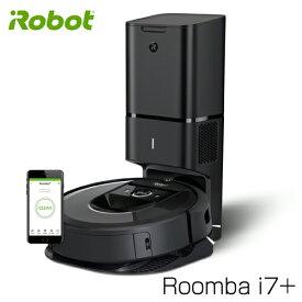 【取寄品】ルンバ i7+ iRobot ロボット掃除機 クリーンベース付 Wi-Fi対応 Alexa対応 i755060
