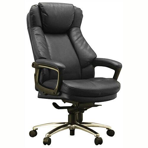 ワーキングチェア スリンキー ECOレザー ブラック 108698 インテリア 家具 オフィス家具 【代引不可】