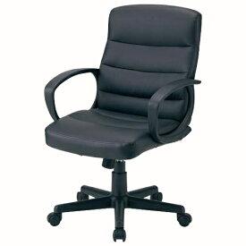 ワーキングチェア ドーミー ブラック 095315 インテリア 家具 オフィス家具 【代引不可】
