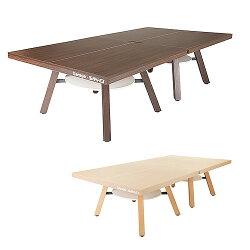 GarageピンポンワークテーブルPW-1514HN同色2台セット組(卓球台1台)幅1525mm×奥行き1370mm×高さ760mm×2台【組立設置付】