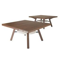 GarageピンポンワークテーブルPW-1514HN同色2台セット組(卓球台1台)幅1525mm×奥行き1370mm×高さ760mm×2台【組立設置付】【代引不可】【05P06Aug16】
