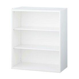 生興 クウォール システム収納庫 オープン書庫 W900×D400×H1050 RW4-10K『代引不可』