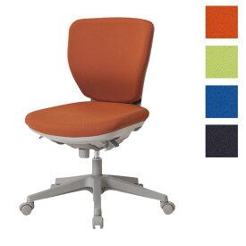 サンケイ オフィスチェア 回転椅子 ガススプリング上下調節 キャスター付 ローバック 肘なし 布張り CO250-MYB【代引不可】