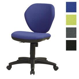サンケイ オフィスチェア 回転椅子 ガススプリング上下調節 キャスター付 肘なし 布張り CO210-MYB【代引不可】