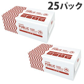 ネピア パブリックタオル 1箱(25パック入)