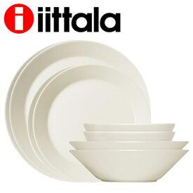 iittala イッタラ Teema ティーマ スターターセット ホワイト 16点セット お皿 皿『送料無料(一部地域除く)』