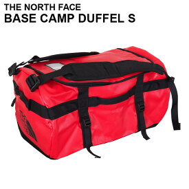 THE NORTH FACE ザ・ノースフェイス BASE CAMP DUFFEL S ベースキャンプ ダッフル 50L レッド×ブラック ボストンバッグ ダッフルバッグ バックパック 【送料無料(一部地域除く)】