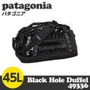 Patagonia パタゴニア 49336 ブラックホールダッフル 45L Black Hole Duffel ブラック