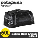 Patagonia パタゴニア 49341 ブラックホールダッフル 60L Black Hole Duffel ブラック
