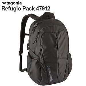 Patagonia パタゴニア 47912 レフュジオパック 28L ブラック Refugio Pack Black BLK 【送料無料(一部地域除く)】