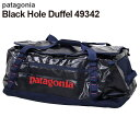Patagonia パタゴニア 49342 ブラックホールダッフル 55L クラシックネイビー Black Hole Duffel