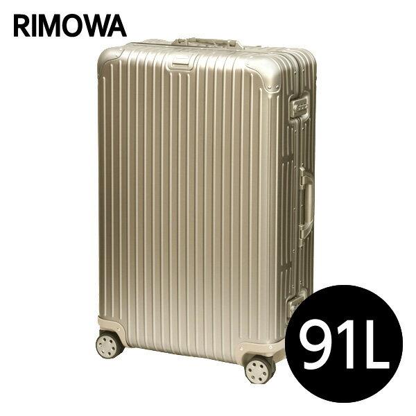 リモワ RIMOWA トパーズ チタニウム 91L TOPAS TITANIUM マルチホイール スーツケース 924.73.03.4