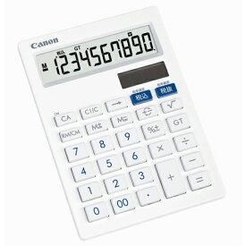 CANON キヤノン 抗菌電卓 小型 卓上 LS-101T キャノン