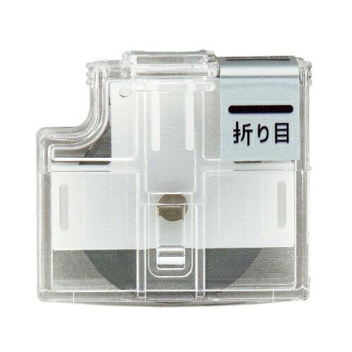 プラス スライドカッター ハンブンコ 替刃 折り目 PK-800H3