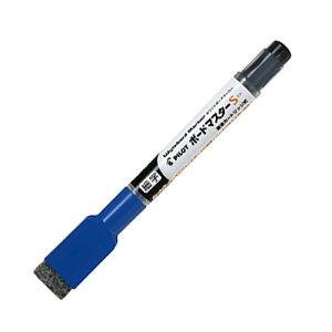 PILOT ボードマスターS 直液カートリッジ式 油性マーカー 細字 1.3mm ブルー イレーザー付 WMBSE-15F-L
