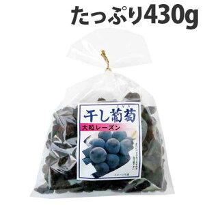 ナガトク 干し葡萄 430g ドライフルーツ レーズン 干しぶどう 葡萄 干しブドウ