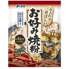日本製粉 オーマイ お好み焼き粉 200g
