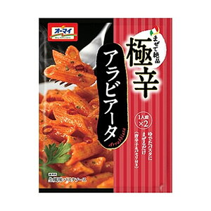 日本製粉 オーマイ 生風味 極辛アラビアータ 30.3×2食入り