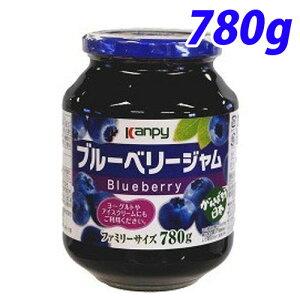 カンピー ブルーベリージャム 780g ジャム シロップ 調味料 瓶詰 保存食 ヨーグルト デザート