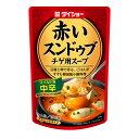 ダイショー 赤いスンドゥブチゲ用スープ 中辛 300g