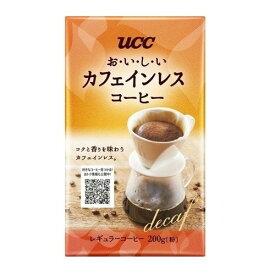 UCC おいしいカフェインレスコーヒー VP 200g