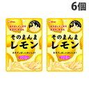 ライオン菓子 そのまんまレモン 25g×6個