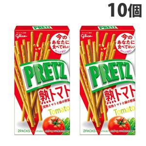 グリコ プリッツ 熟トマト 60g×10個