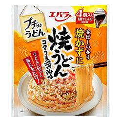 エバラ食品プチッとうどん焼うどんコクうま醤油味22g×4