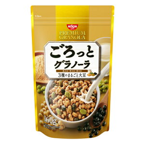 日清シスコ ごろっとグラノーラ 3種のまるごと大豆 160g
