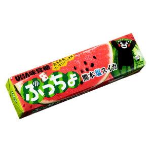 UHA味覚糖 ぷっちょ 熊本塩スイカ スティック 10粒