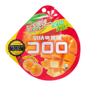 UHA味覚糖 コロロ マンゴー 40g