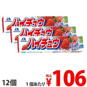 森永 ハイチュウ ストロベリー 12粒×12個