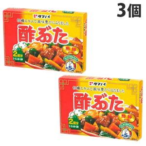 タマノイ 酢豚の素 90g×3個
